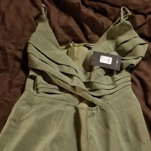 Fashion nova olive romper